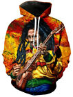 Men/Womens Reggae originator Bob Marley 3D Print Sweatshirt Hoodies Pullovers