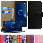 Luxury Leather Flip Magnetic Case Wallet Cover For Alcatel 1 3V U5 3C A7 A5 A3