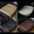 Breathable Car Front Seat Cover PU Leather Seat Protector Cushion 3D Universal on eBay