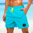 Mens Surf Board Shorts Summer Beach Shorts Pants Swiming Trunks Swimsuit 30-38