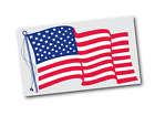 USA Flag Static Cling | Face Application | 11.50 x 6.75 | Patriotic Products