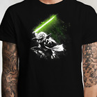 Star Wars Yoda Jedi Master Lightsaber T Shirt (S-XL) Luke Vader Skywalker $13.99 USD on eBay