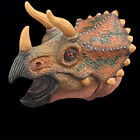 Dinosaur Hand Puppets Role Play Realistic Spinosaurus Head Gloves Soft Toy Pro