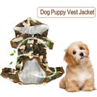 Waterproof Pet Dog Puppy Vest Jacket Dogs Clothes Outdoor Rain Camo Coat M/L/XL