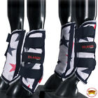L,M,S, XL Hilason horse fly Boots UV Protection Fleece Lined 4 pack Stars U-B102