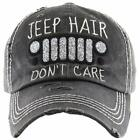 Funky Junque Womens Baseball Cap Distressed Vintage Unconstructed Embroidered Da