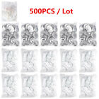 500PCS Blank Badge Parts Supplies Button Pin Materials For Pro Maker Machine DIY