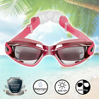 Swimming Goggle Anti UV Fog Protection Electric Plating Glass Eye Mask Cover TZ1