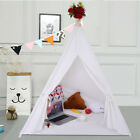 Large Cotton Canvas  Teepee Tent for Kids Tipi Tents Indoor Outdoor   Play