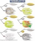 Terminator Super Stainless Spinnerbait Colorado Willow 3/8 Oz. Select Colors