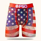 PSD UNDERWEAR AMERICA USA FLAG JULY 4TH PATRIOTIC  URBAN MENS BOXER BRIEFS