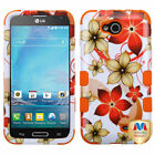For LG Optimus L90 Design TUFF Case Cover Armor Rugged Shell