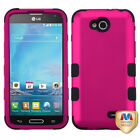 For LG Optimus L90 TUFF ARMOR CASE Rubberized Hard Cover