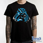 CAROLINA PANTHERS GLOVES T-SHIRT FOOTBALL SHIRT NICE CAROLINA TEE  s7 on eBay