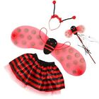 Ladybird or Bumblebee Wings Set Fancy Dress Bug Insect Kids Children Costume Use