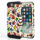 For Apple iPhone - KoolKase Hybrid ShockProof Cover Case - Lady Bug Colorful