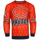 NFL Men's Chicago Bears Walter Payton #34 Retired Player Ugly Sweater $49.99 USD on eBay