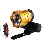 Rechargeable 15000LM XM-L T6 LED MTB Bicycle Lights Bike Front+Rear Headlight <br/> √1000+Sold √Best Quality ☎Pro Seller ✈Fast Shipping