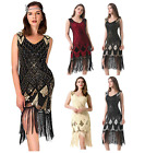 Gatsby Dresses Flapper 1920s Beaded Great Party Vintage Sequin Womens S Fringed