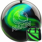 Bowling Ball and Bag Set ebonite Maxim Northern Lights and Basic Bag Lime