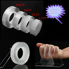 Magic Clear Double Sided Seamless Nano Invisible Washable Adhesive Gel Tape 1 5M