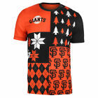 FOCO MLB Men's San Francisco Giants Busy Block Ugly Crew Neck Tee on Ebay