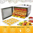6 Layers Professional Food Dehydrator Drying Machine Stainless Steel Jerky Dryer