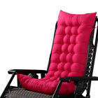 HM US Outdoor Soft Chair Cushion Tufted Deck Chaise Padding Patio Pool Recliner