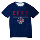 FOCO MLS Men's Chicago Cubs Big Logo Half Tone Tee on Ebay