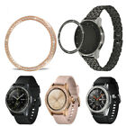 2Pcs Alloy Bezel Ring Adhesive Cover For Samsung Galaxy Gear S3 Frontier/Classic image