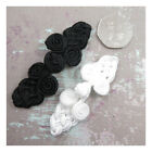 FROG KNOT FASTENERS SEW ON BUTTONS HABERDASHERY BRIDAL DRESSMAKING 2 COLOURS