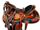 16 15 PRO WESTERN TRAIL BARREL RACING SHOW HORSE TOOLED LEATHER PLEASURE PACKAGE
