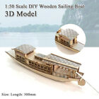 Diy Toys Puzzle 3D Boat Educational Gift Games Assemble Wood Building Model $45.99 USD on eBay