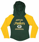 OuterStuff NFL Youth Girls Long Sleeve Hooded Shirt, Green Bay Packers $17.5 USD on eBay