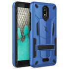 For Wiko Ride (Boost Mobile) Case with stand Kickstand Rugged Hard Phone Cover