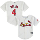 MLB Yadier Molina #4 St Louis Cardinals Toddler Cool Base Home Replica Jersey on Ebay