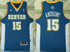 Denver Nuggets #15 Carmelo Anthony Basketball jersey Mesh Blue S-XXL on eBay