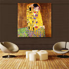 "Gustav Klimt""The Kiss"" HD print on canvas huge wall picture (31x31in)"