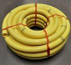Yellow Corrugated Flexible Pond Hose Pipe Various Lengths - Free Delivery