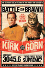 Star Trek Kirk Vs Gorn 24x36 Poster on eBay