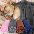 Dog Blankets Large Washable Cosy Fleece Pet Blankets for Dogs Cats Bed Chewproof