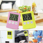 Digital Timer Reminder Alarm LCD Cooking Clock Kitchen Count-Down Up Loud US