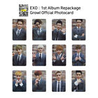 EXO 1st album GROWL Repackage Official Photocard Korean Version KPOP K-POP