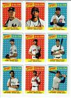 2019 Topps Archives High Number Short Print You Pick 301-330 ALONZO ACUNA VLAD +