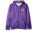 Zubaz Men's Minnesota Vikings NFL Zip Up Hoodie With Camo Accents on eBay