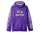 Zubaz Men's NFL Baltimore Ravens Pullover Hoodie With Zebra Accents $34.95 USD on eBay