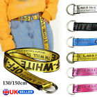 130 150cm Unisex Off White Yellow Silver Belt Causal Vetements Rubchinskiy Strap