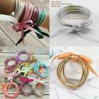 Glitter Bangles Set Glitter Filled Silicone Jelly Bracelets For All Weather Us