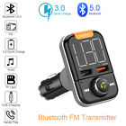 Wireless Bluetooth FM Transmitter Car AUX Radio MP3 Player Handsfree USB Charger