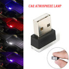 1pcs Mini Flexible Usb Led Lamp Car Atmosphere Lamp Light Colorful Accessories
